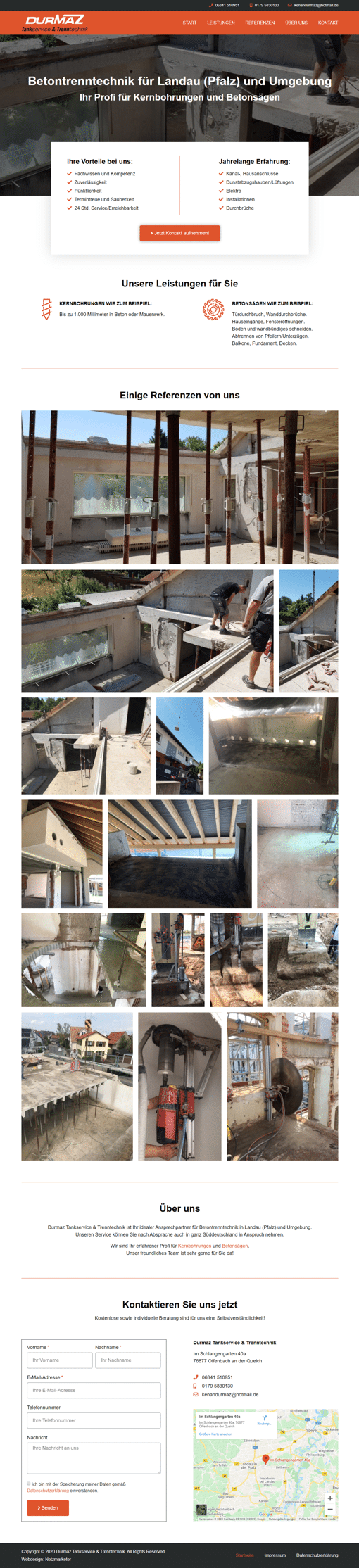 Durmaz - Website