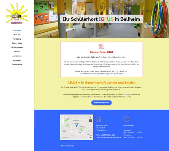 IGLUS - Website