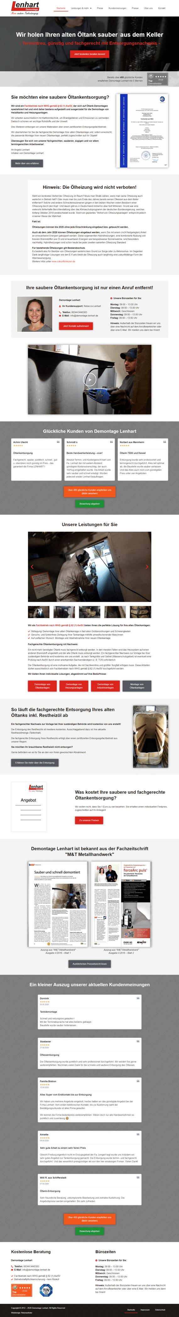 Lenhart - Website