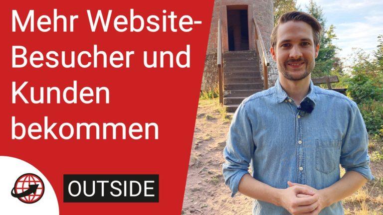 Mehr Website-Besucher und mehr Kunden bekommen