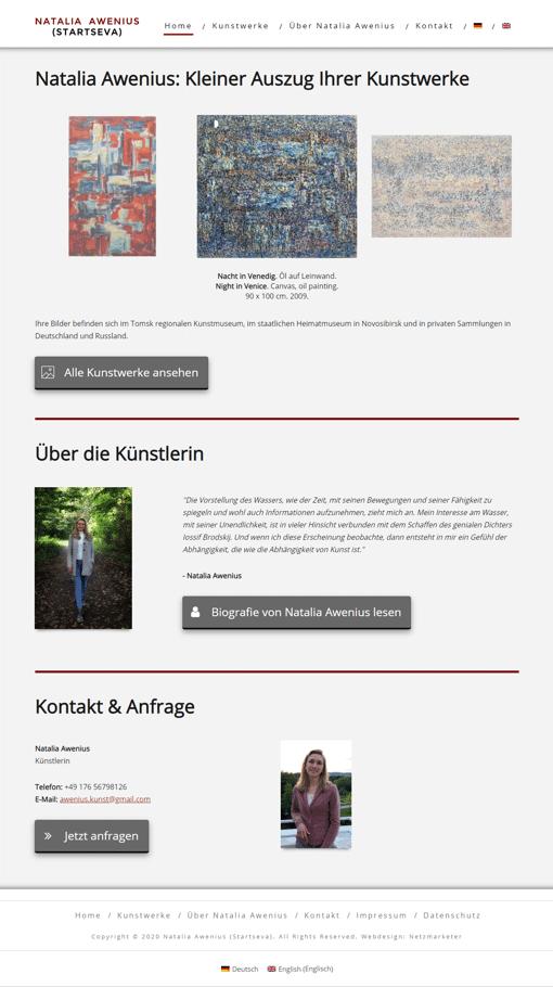 Natalia - Website