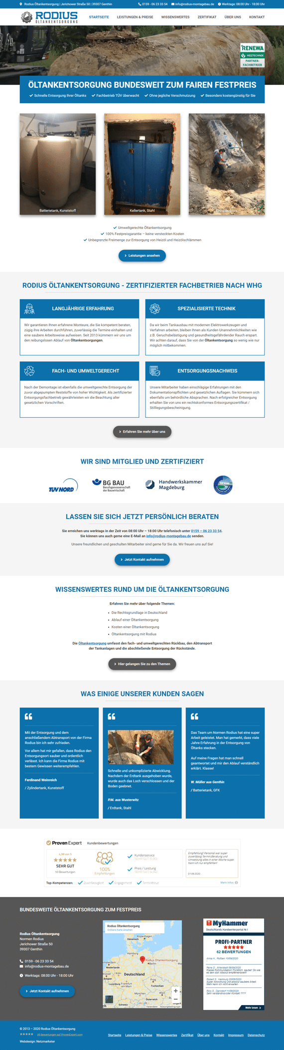 Rodius - Website