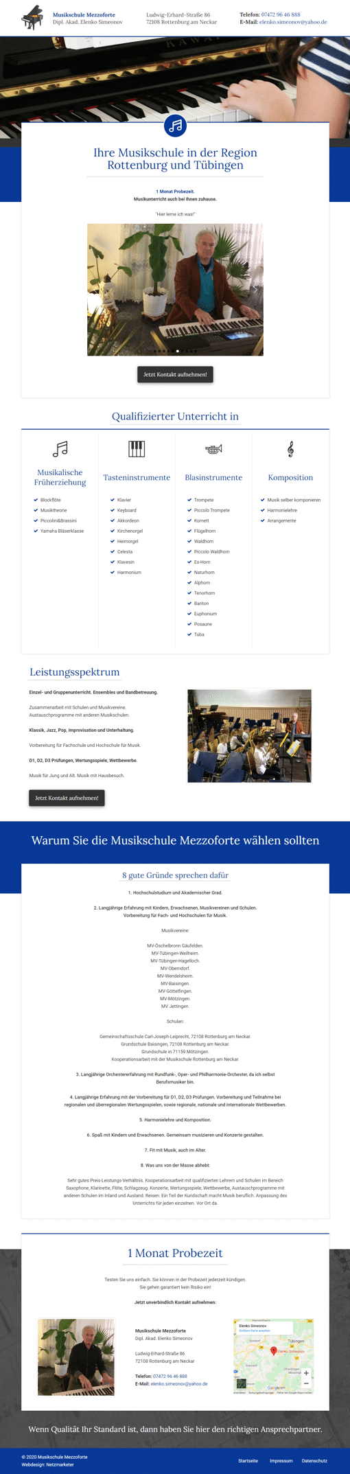 Simeonov - Website