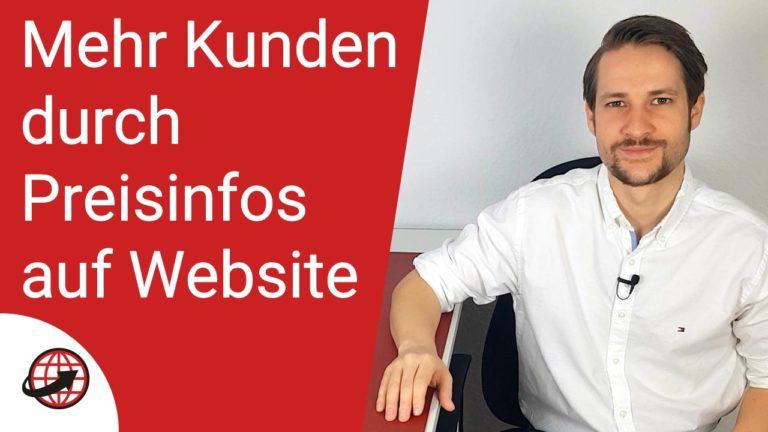 Webdesign Neukunden Preise